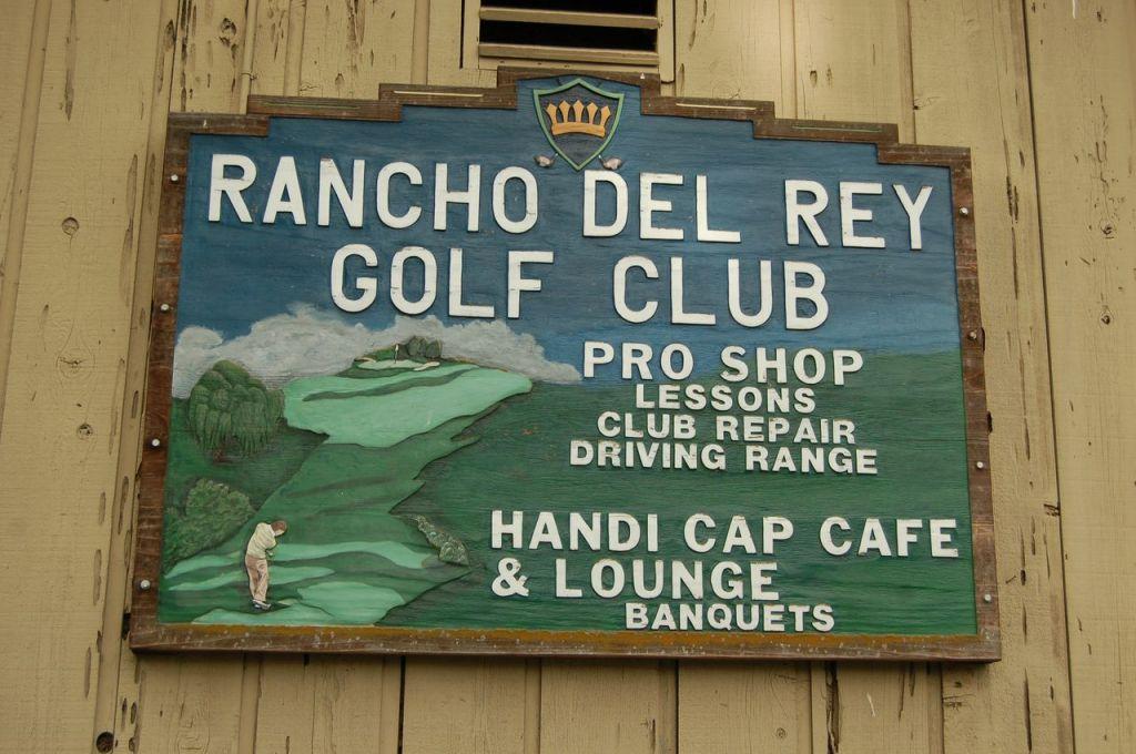Rancho Del Rey sign